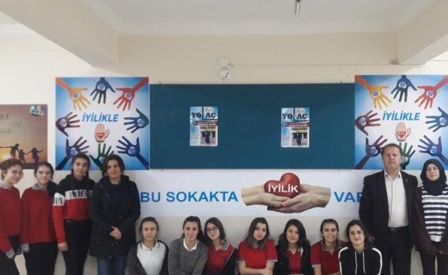 Gördes'te 'Anadolu'da iyilik var' projesi başladı