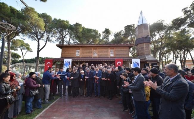 Horozköy Çamlık Cami ibadete açıldı