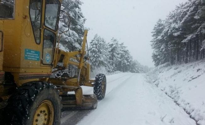 Manisa'da kar alarmı
