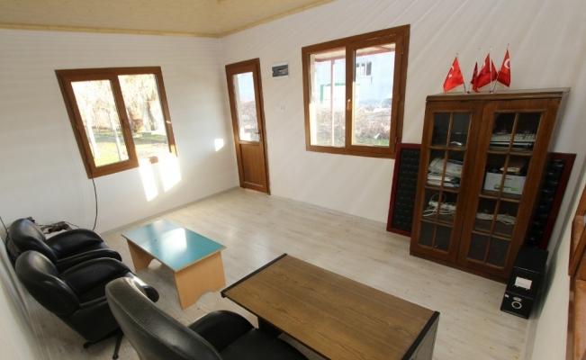 Saruhanlı Belediyesi Dilek Mahallesine muhtarlık bürosu yaptı