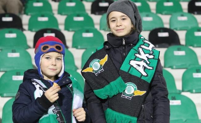 Spor Toto Süper Lig: Akhisarspor: 0 - Atiker Konyaspor: 0 (İlk yarı)