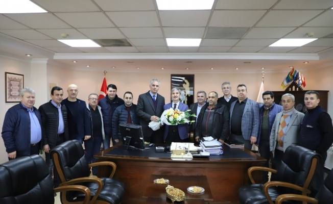 Turgutlu MHP'den Başkan Şirin'e ziyaret
