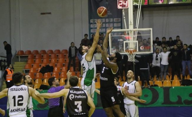 Türkiye Basketbol Ligi: Akhisar Belediyespor: 84 - Socar Petkim Spor: 77