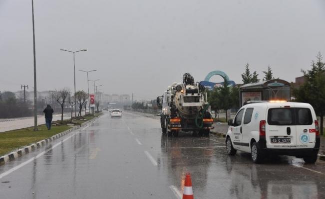 Manisa Büyükşehir ve MASKİ tüm ekipleriyle sahada