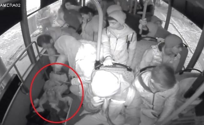 Manisa'da özel halk otobüsü şoförü hayat kurtardı