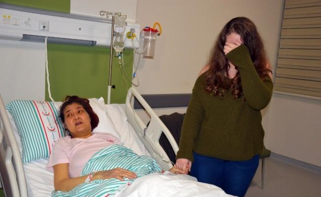Gözü yaşlı anne karaciğer nakli bekliyor