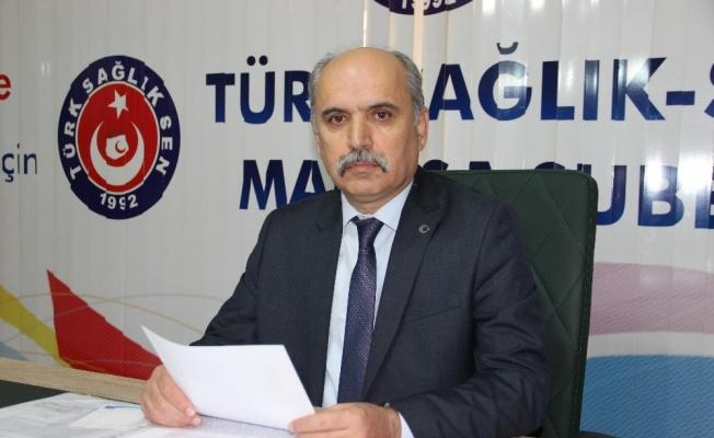 Türk Sağlık-Sen'den 'Çalışma barışı' vurgusu