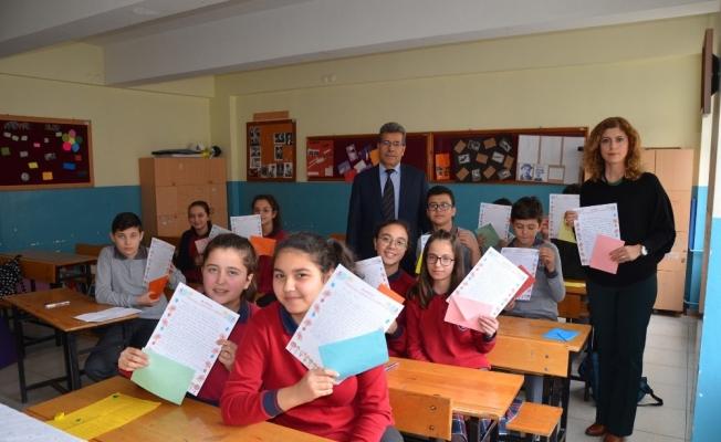 Kırkağaçlı öğrencilerden Doğubayazıt'a mektup