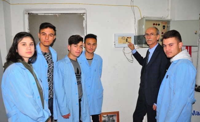 (Özel) Öğrencilerin 23 bin lira tasarruf ettiren projesi tescil yolunda