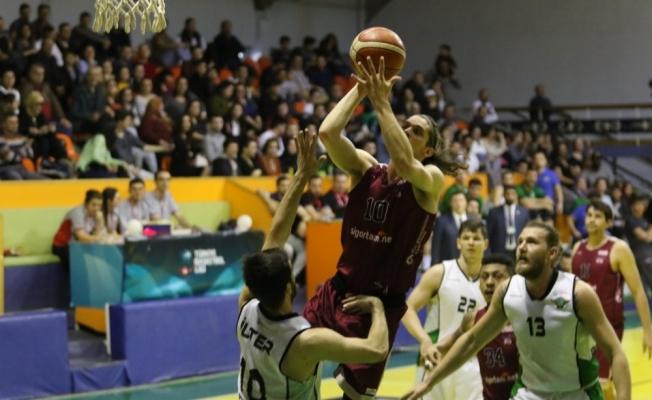 Türkiye Basketbol 1. Ligi: Akhisar Belediyespor: 70 - Sigortam.net Bakırköy: 75