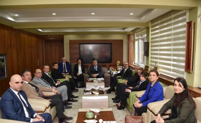 Başkan Çerçi'ye tebrik ziyaretleri devam ediyor