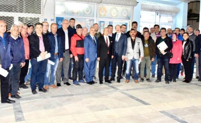 Başkan Kayda'dan Türk Eğitim-Sen'e ziyaret