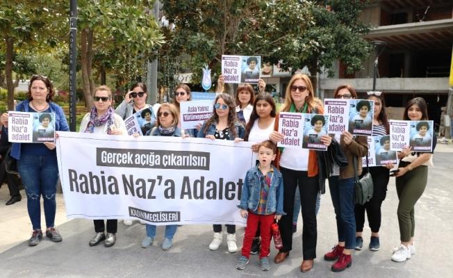 Giresun'da şüpheli şekilde ölen Rabia Naz için Manisa'da eylem