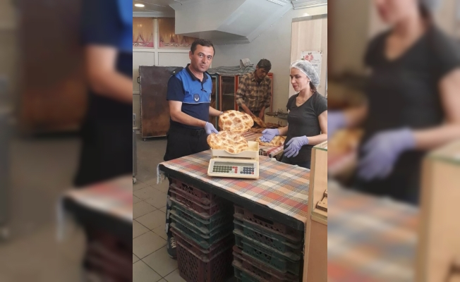 Alaşehir Belediyesinden fırınlara denetleme