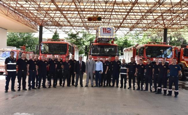 Manisa Büyükşehir İtfaiyesi her duruma hazır
