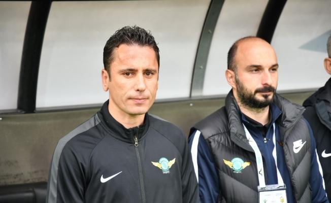 Süper Lig'e veda eden Akhisarspor'da hedef Ziraat Türkiye Kupası