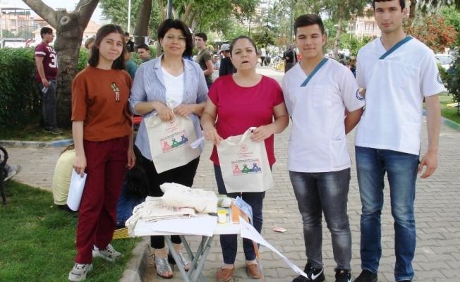 Vatandaşlar hastalıklar hakkında bilgilendirildi