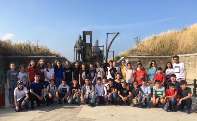 550 Kırkağaçlı öğrenci Çanakkale'de
