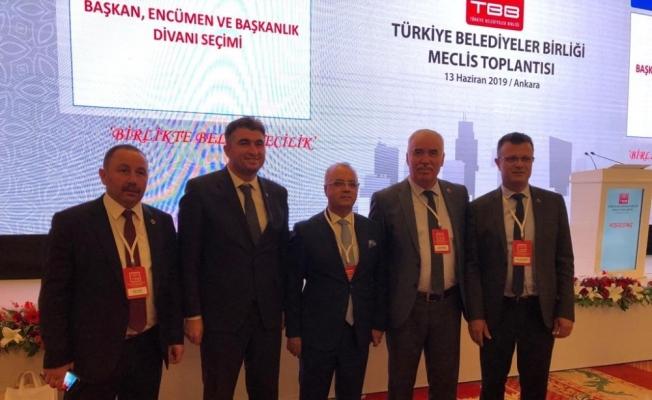 Başkan Ergün Türkiye Belediyeler Birliği yönetimine seçildi