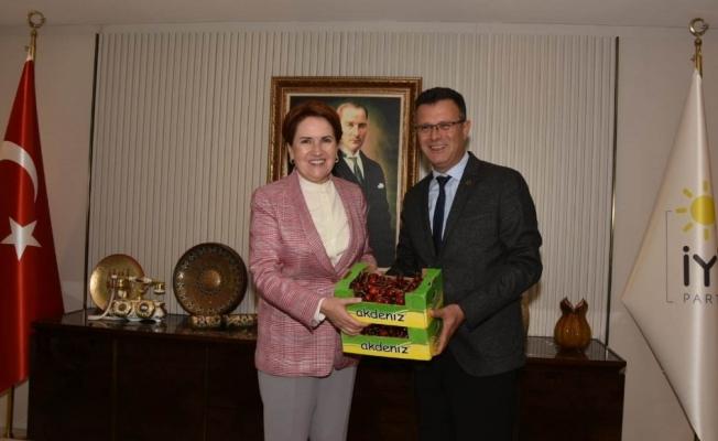 Başkan Öküzcüoğlu Akşener'i 5 Eylül kutlamalarına davet etti