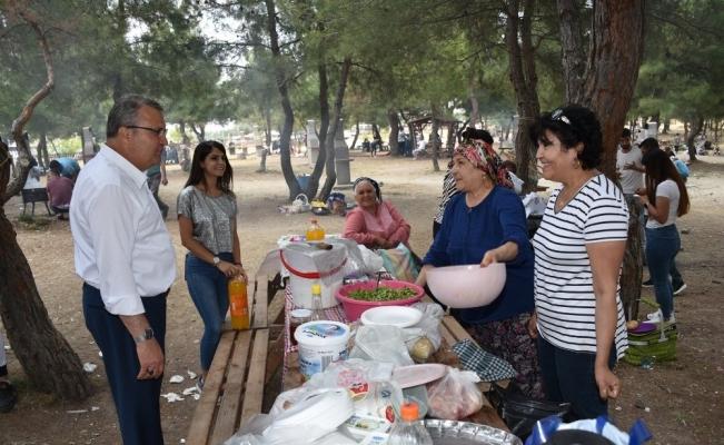 Ortaköy Mesire Alanı vatandaşların gözdesi oldu