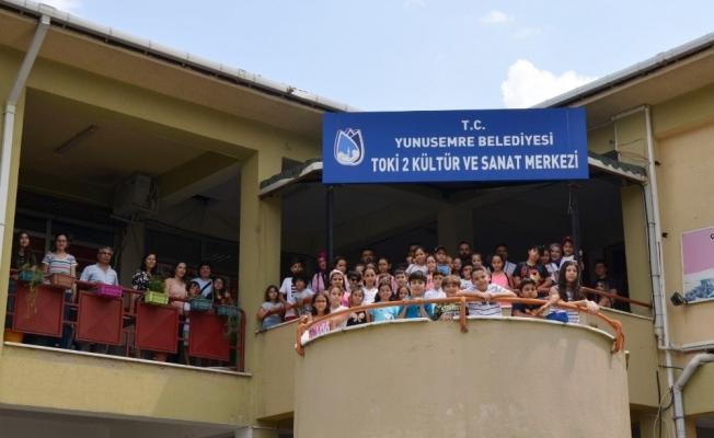 500 öğrenci kültür merkezinden faydalanıyor