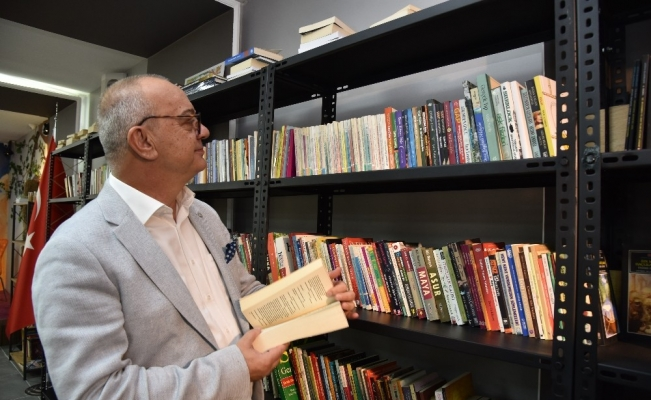 Başkan Ergün'den çocuklara Yeşil Kitap Kafeye davet