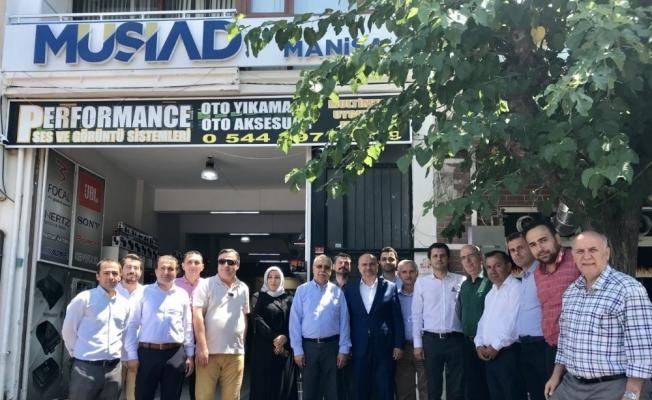 Manisa MÜSİAD AK Parti'li Mersinli'yi ağırladı