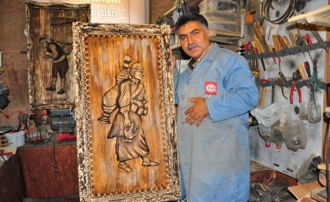 (Özel) Osmanlı'nın günlük yaşamı Avrupalıların evini süslüyor