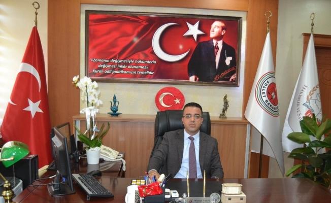 Salihli'nin yeni başsavcısı Mustafa Balık görevine başladı