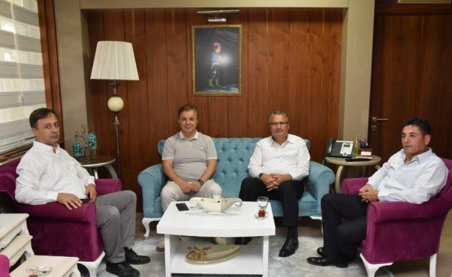 Başkan Çerçi Kent Konseyinin yeni yönetimini ağırladı