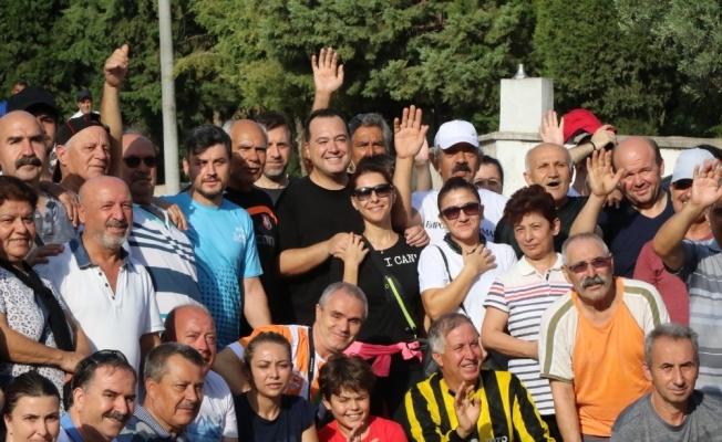 Başkan Dutlulu, 300 kişi ile birlikte doğa yürüyüşüne katıldı