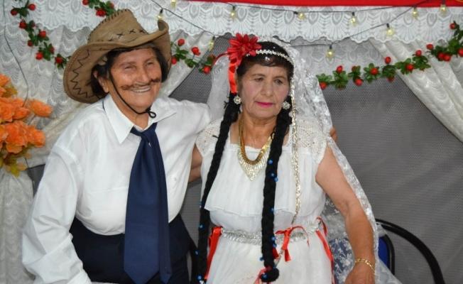 Manisa'da imece usulü kısır düğünü