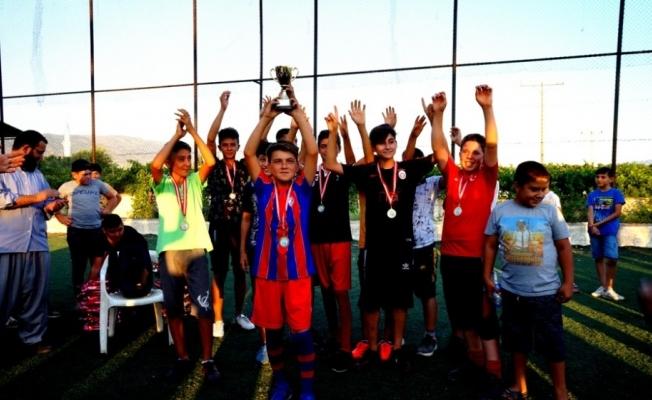 Sarıgöl'de 'Yaz Kur'an Kursları Arası Futbol Turnuvası'