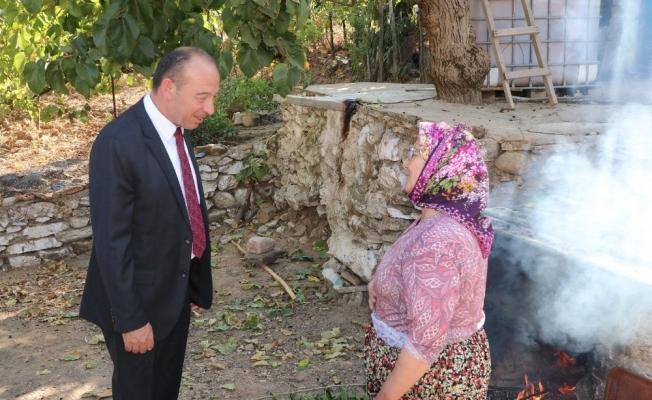 Başkan Akın mahalle ziyaretlerine devam ediyor