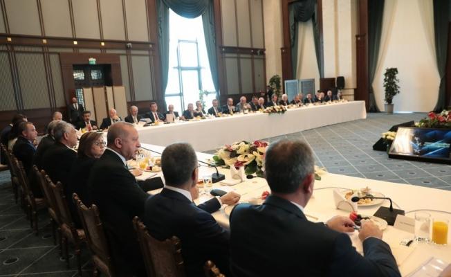 Cumhurbaşkanı Erdoğan, kurulacak komisyona Başkan Ergün'ü de seçti