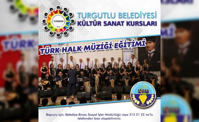 Turgutlu Belediyesi Kültür Sanat Kurslarına kayıtlar başladı