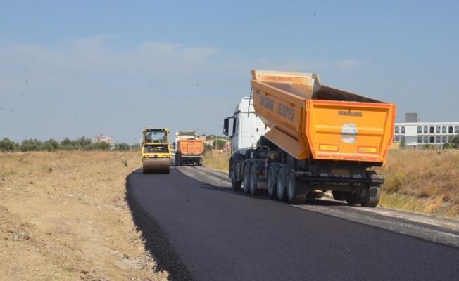 Yunusemre Belediyesinden Muradiye Mahallesine asfalt çalışması