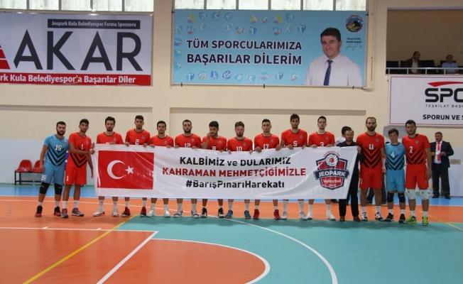 Jeopark Kula Belediyespor sezona galibiyetle başladı