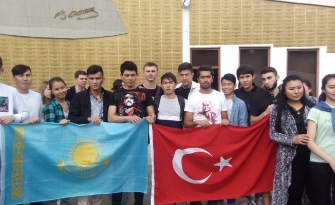 Manisa Büyükşehir, Türk dünyası öğrencilerini ağırladı