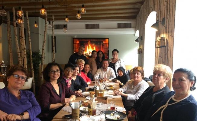 Aloğlu, Almanya'da Türk Kadınlar Topluluğunun misafiri oldu
