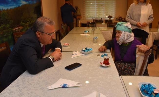 Başkan Çerçi halkla buluştu
