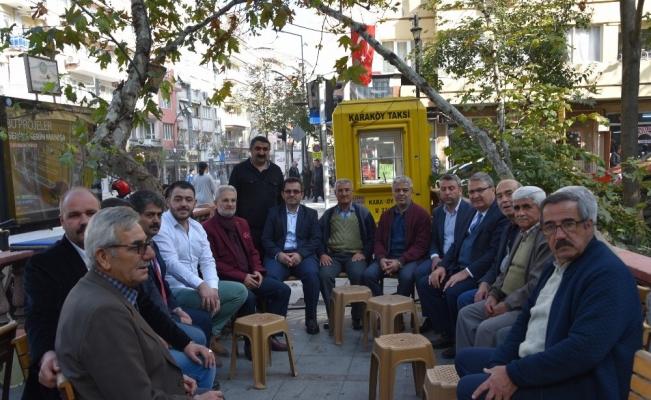 Başkan Çerçi Topçuasım'da vatandaşlar ile buluştu