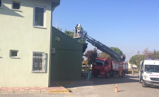 Manisa Büyükşehir Belediyesinde acil durum tatbikatı