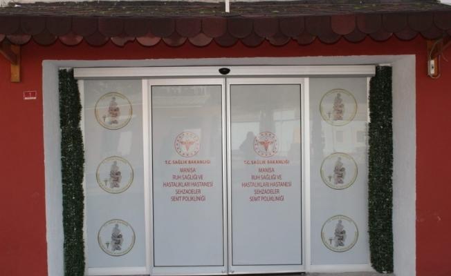 Manisa Ruh Sağlığının Şehzadeler Semt Polikliniği hizmete başladı