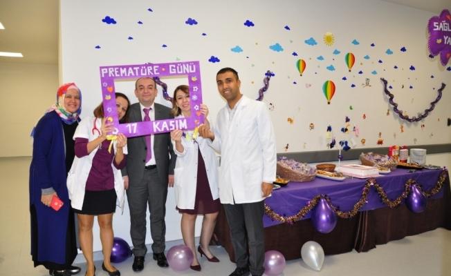 """Manisa Şehir Hastanesinde """"Prematüre Günü"""" etkinliği"""