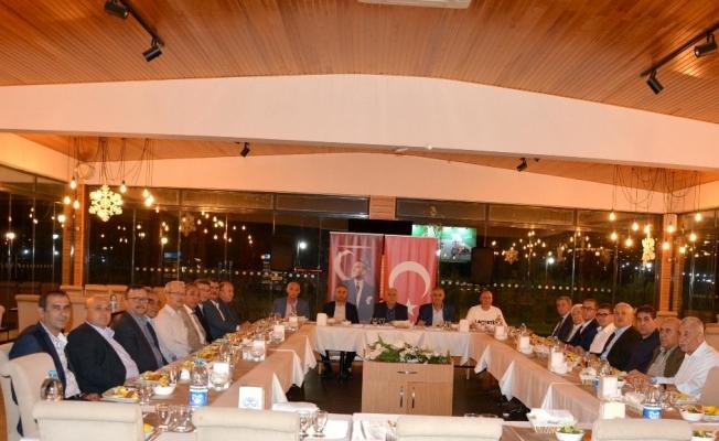 Salihlili oda başkanları istişare toplantısında buluştu
