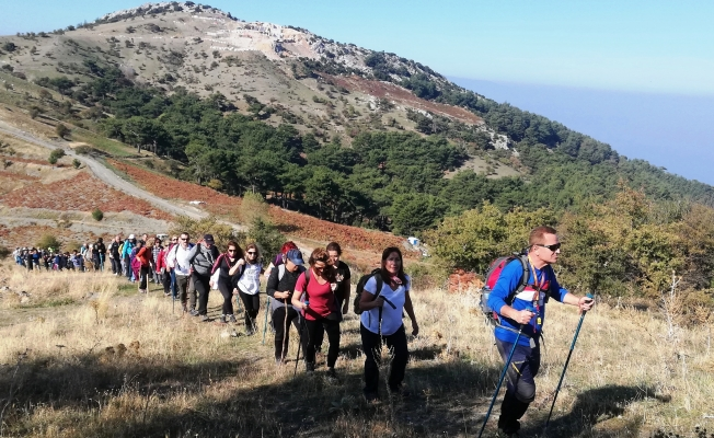 Spilos Dağcıları Çatalkaya'da