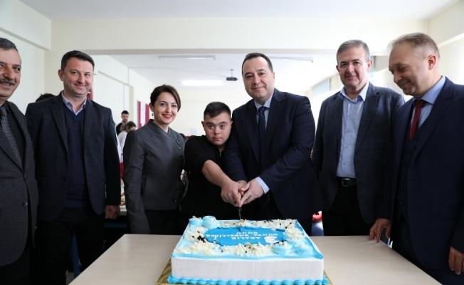 Başkan Dutlulu engelli bireyleri unutmadı