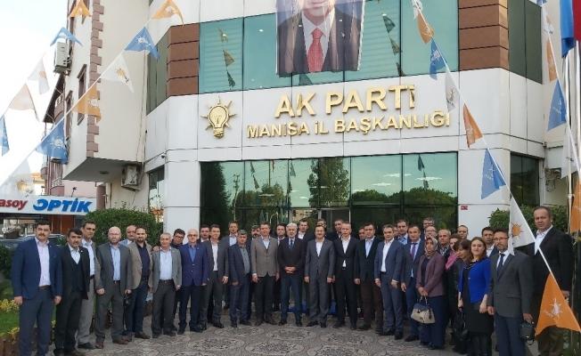Memur-Sen'den AK Parti İl Başkanı Hızlı'ya ziyaret